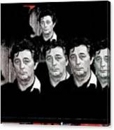 Five Robert Mitchum's Young Billy Young Set Old Tucson Arizona 1968-2012 Canvas Print