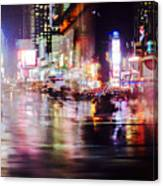 Flash Of Light Canvas Print