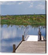 Florida Backwater Canvas Print