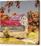 Flour Mill Canvas Print