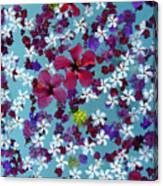 Flower Fantasy Guatemala Canvas Print