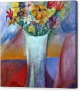 Flowers In Vase Vii Canvas Print
