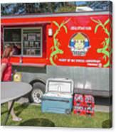 Food Truck Canvas Print