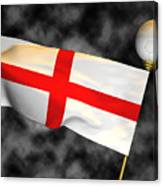 Football World Cup Cheer Series - England Canvas Print