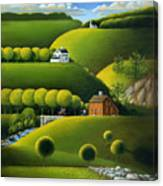 Foothills Of The Berkshires Canvas Print