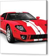 Ford Gt Supercar Canvas Print