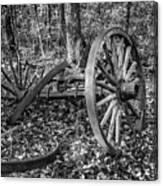 Forgotten Wagon Canvas Print
