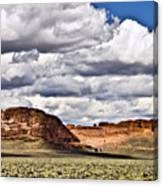 Fort Rock Canvas Print