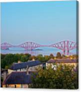 Forth Bridge, Scotland Canvas Print