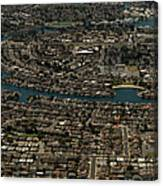 Foster City, California Aerial Photo Canvas Print