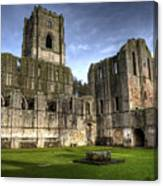 Fountains Abbey 6 Canvas Print