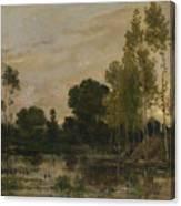 Francois Daubigny  Canvas Print