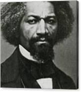 Frederick Douglass, African-american Canvas Print