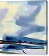 Fremont Salt Pans Canvas Print