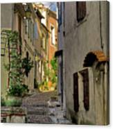 French Scenes Canvas Print