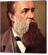 Friedrich Engels Canvas Print