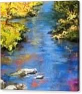 From The Bridge Canvas Print