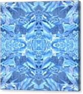 Frost Feathers Canvas Print