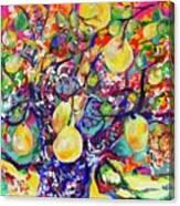 Fruit Full Vibrations Canvas Print