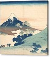 Fuji From Inume Pass Canvas Print
