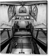 Fulton Street Subway Canvas Print
