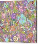 Funfetti Canvas Print