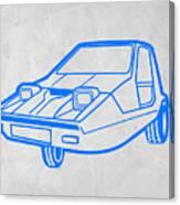 Funny Car Canvas Print