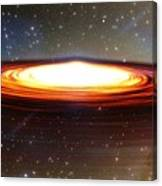 Galactic Core Canvas Print