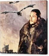 Game Of Thrones. Jon Snow. Canvas Print