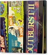 Game Shelf II Canvas Print