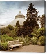 Garden Conservatory Canvas Print
