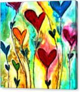Garden Of Love Canvas Print