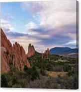 Garden Of The Gods - Colorado Springs Canvas Print