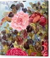 Garden Party/portion  Canvas Print
