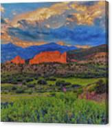 Gateway To The Garden Canvas Print