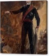 General Gebhard Leberecht Von Blucher Canvas Print