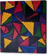 Geopaint1 Canvas Print