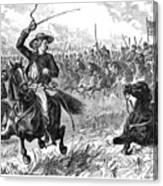 George Custer (1839-1876) Canvas Print