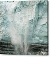 Glacier Calving 1a Canvas Print
