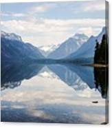 Glacier Reflections Canvas Print