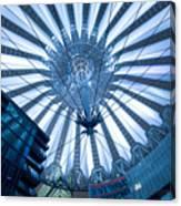 Glass Sky Canvas Print