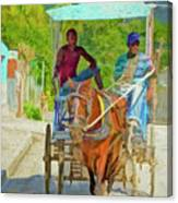 Going To Market 2 Canvas Print