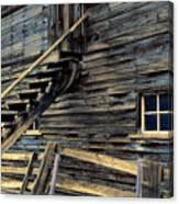 Golden Barn  Canvas Print