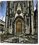 Gotic Church Canvas Print
