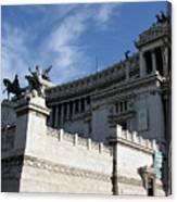 Government Building Rome Canvas Print