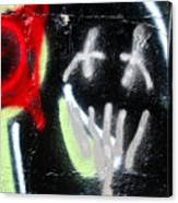 Graffiti Fort Armistead Baltimore Maryland Canvas Print