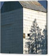 Grain Elevator In Troy Idaho Canvas Print