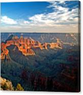 Grand Canyon National Park - Sunset On North Rim Canvas Print