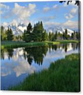 Grand Teton Reflection Canvas Print