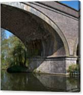 Grand Union Canal Bridge 181 Canvas Print